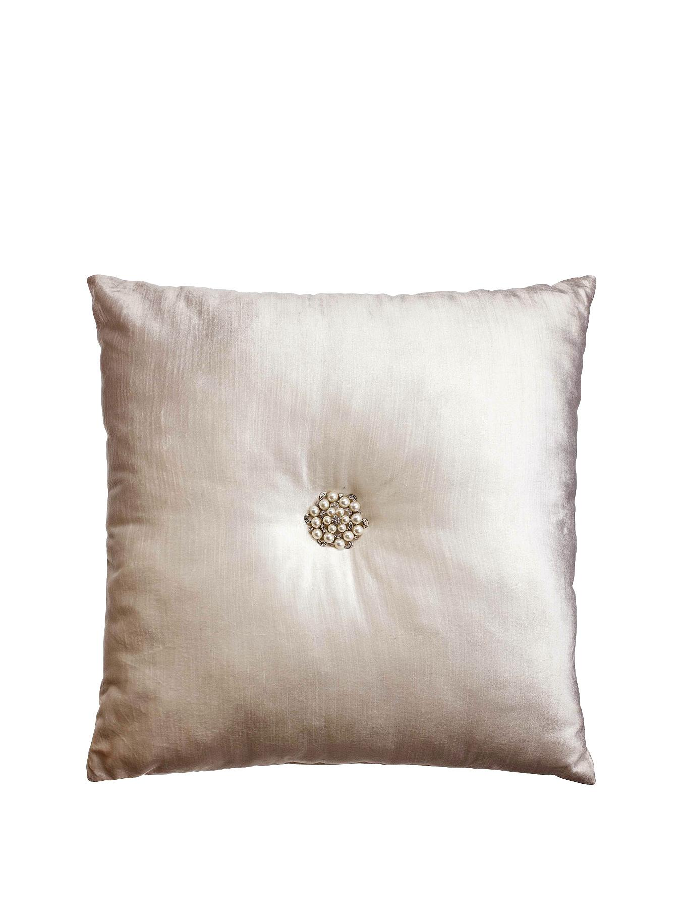 Kylie Minogue Catarina Filled Square Cushion - Gold, Gold