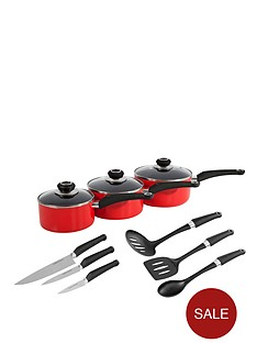 morphy-richards-3-piece-pan-set-161820cm-with-6-piece-tool-set-bred
