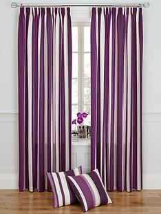 vertical-stripe-printed-pencil-pleat-curtains