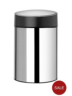 brabantia-slide-bin-5-litre-brilliant-steel