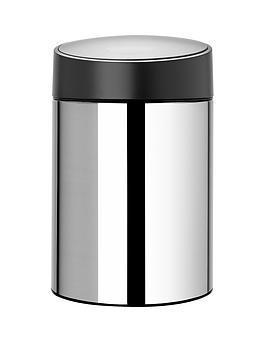 brabantia-slide-bin-5-litre-brilliant-steel