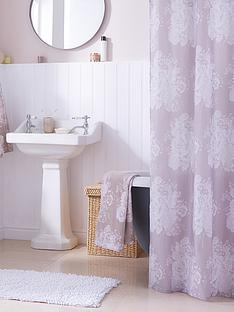 catherine-lansfield-versaille-shower-curtain