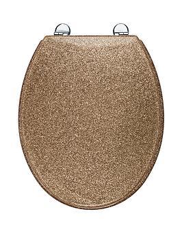 croydex-gold-glitter-toilet-seat