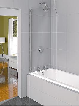 aqualux-aqua-4-half-framed-bath-screen-1400-x-800mm