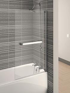 aqualux-aqua-4-square-bath-screen-1375-x-750mm