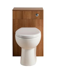 walnut-500-mm-wc-unit-including-pan-and-concealed-cistern
