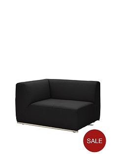 boda-modular-left-hand-single-arm-faux-leather-chair