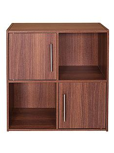 metro-2-door-2-shelf-storage-unit