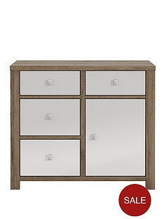 jasper-high-gloss-1-door-4-drawer-compact-sideboard