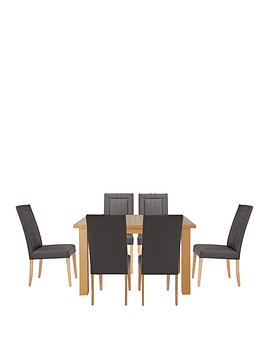 primo-120-150-cm-extending-dining-table-6-opus-chairs-buy-and-save