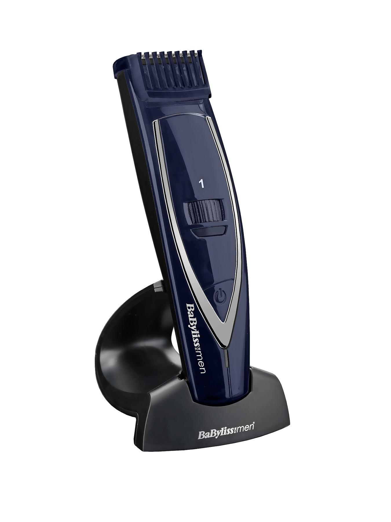 BaByliss For Men 7897U Super Beard Trimmer & FREE Lynx Gift Set*