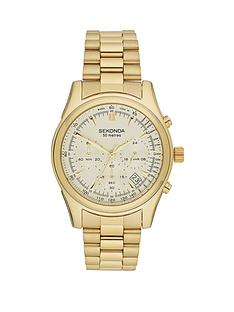 sekonda-chronograph-gold-tone-bracelet-mens-watch