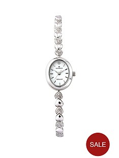 sovereign-personalised-sterling-silver-20-points-diamond-set-bracelet-ladies-watch
