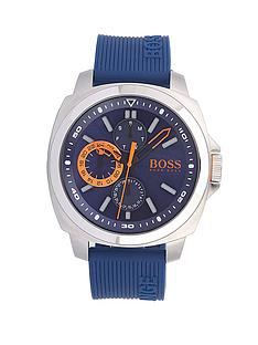 hugo-boss-blue-silicone-stainless-steel-mens-strap-watch