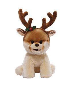 boo-plush-with-reindeer-antlers
