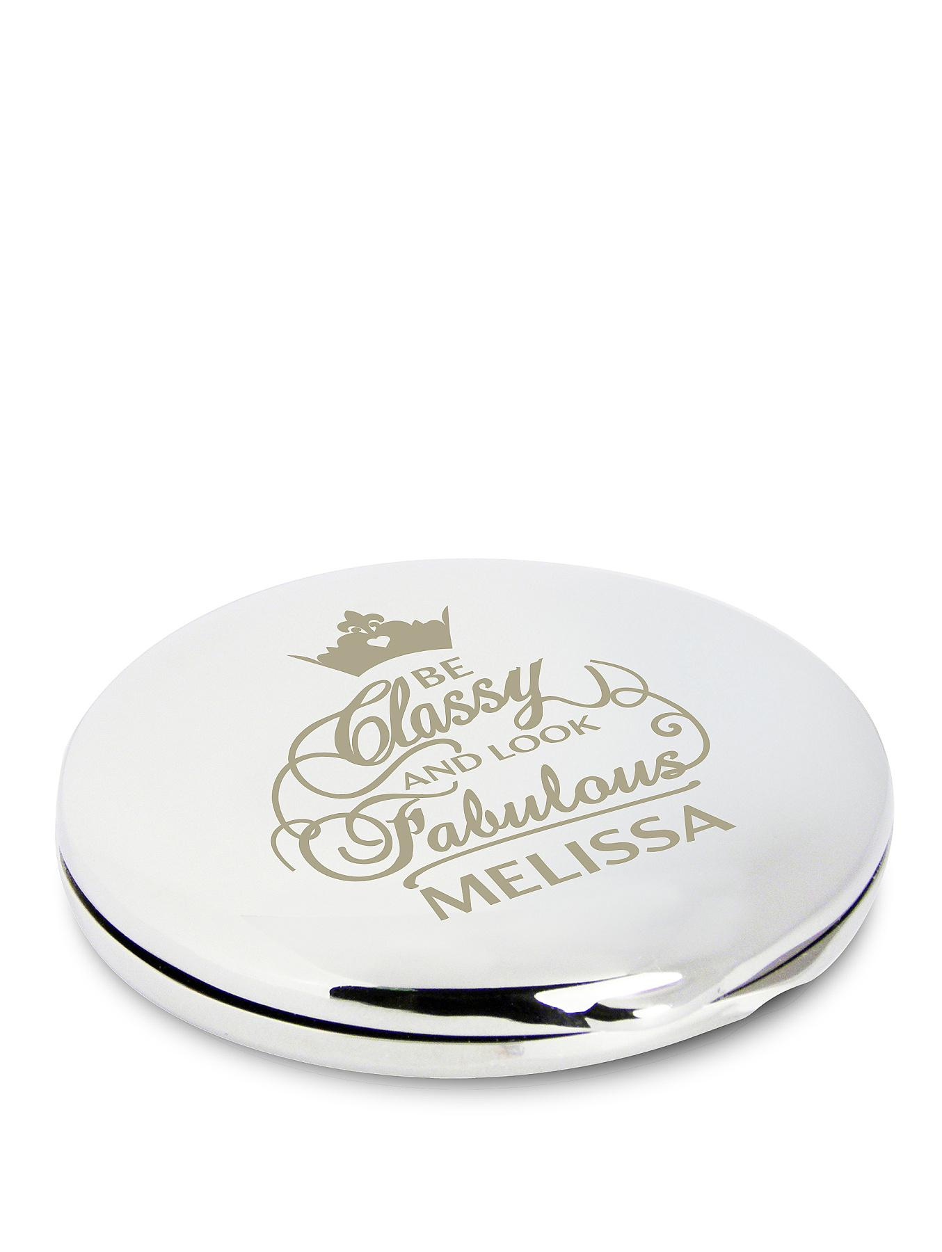 Personalised Classy and Fabulous Compact Mirror