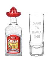 Personalised Shot Glass and Tequila