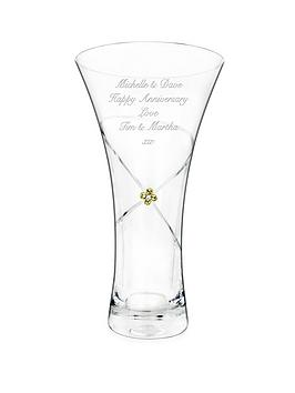 personalised-infinity-diamante-vase-with-swarovski-elements