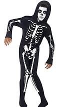 Halloween Boys Skeleton Fancy Dress Costume