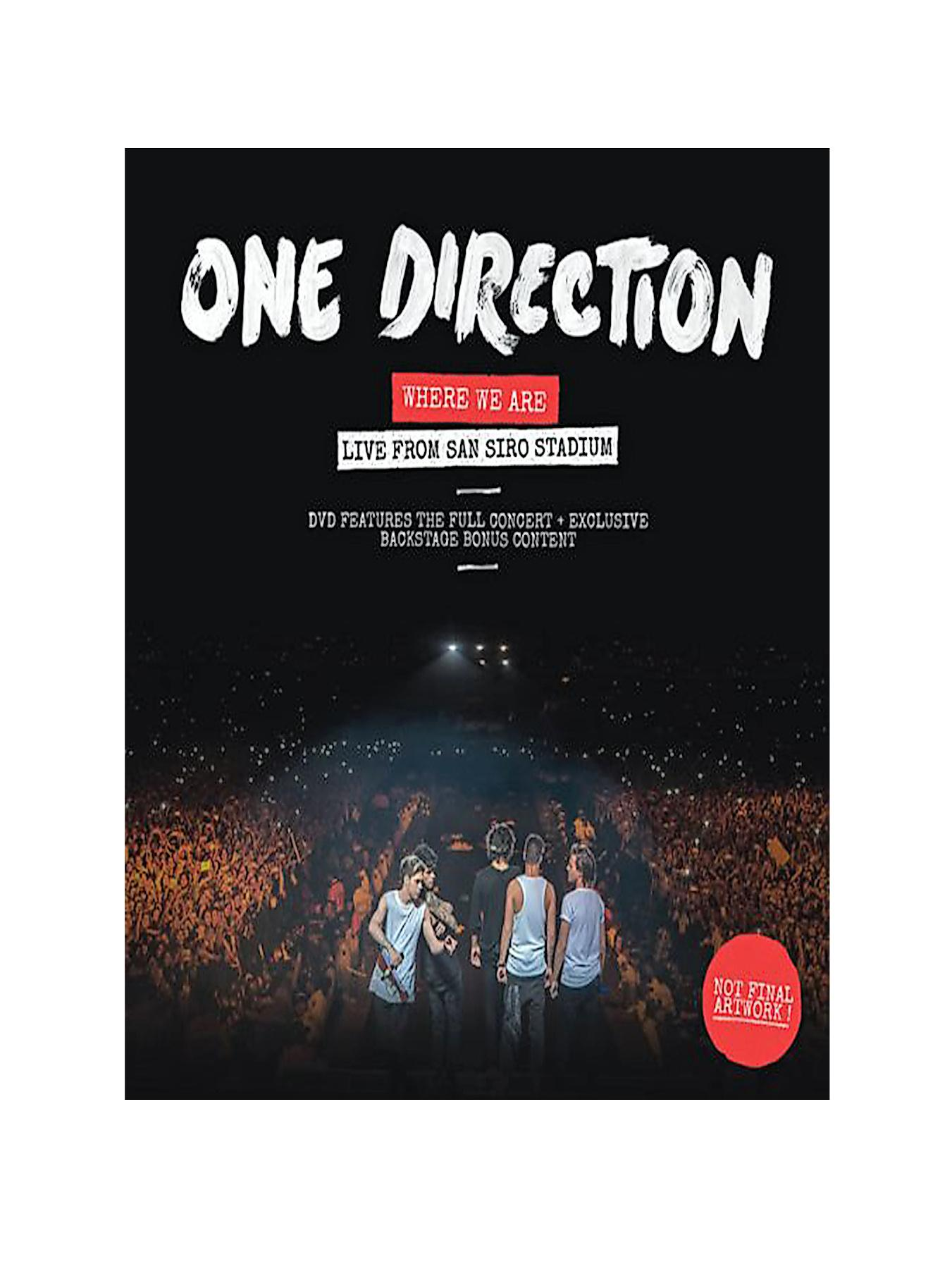 One Direction One Direction - Where We Are (Live from San Siro Stadium/Live Recording) - DVD