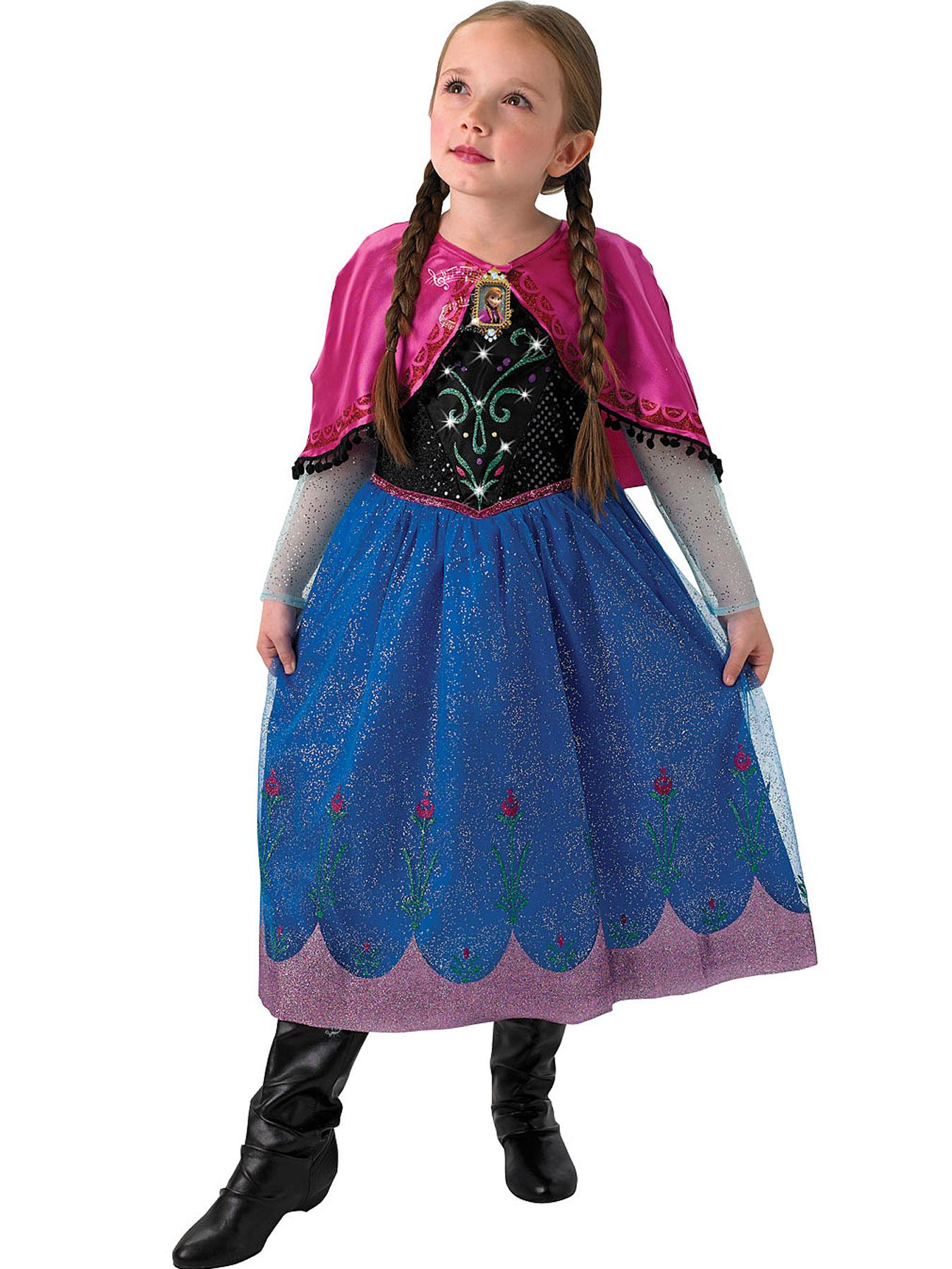 Disney Frozen Musical and Light-Up Anna Costume - Child.