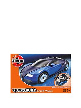 airfix quickbuild bugatti veyron. Black Bedroom Furniture Sets. Home Design Ideas