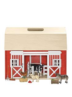 schleich-portable-barn-with-figures