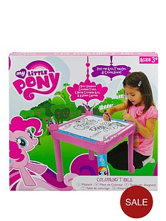 my-little-pony-colouring-table