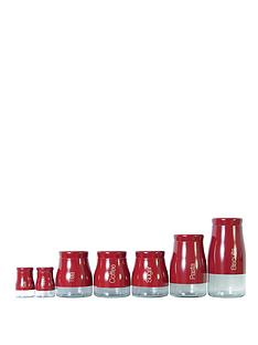 sabichi-7-piece-red-kitchen-canister-set