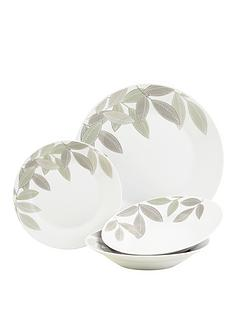 sabichi-12-piece-laurel-leaf-porcelain-dinner-set