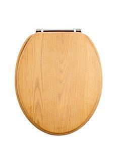 limed-oak-toilet-seat