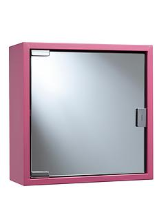 croydex-coloured-steel-cabinet-pink
