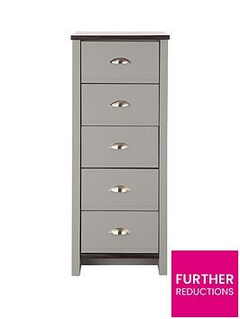 consort-tivoli-ready-assembled-5-drawer-chest-greywalnut-effect