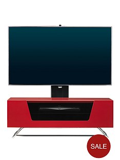 alphason-chromium-cantilever-tv-stand-red-fits-up-to-50-inch-tv