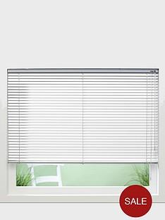 made-to-measure-25mm-aluminium-perforated-venetian-blinds-white