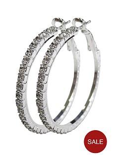 silver-tone-diamante-hoops-35-mm-hoops