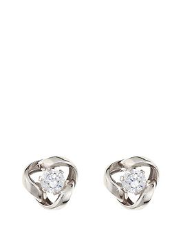 love-gold-9-carat-white-gold-65mm-cubic-zirconia-knot-earrings