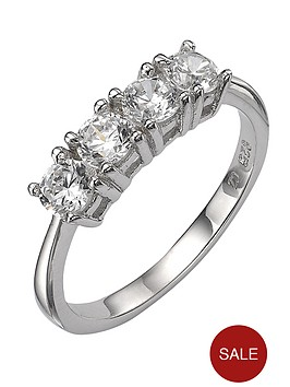 love-gem-sterling-silver-white-cubic-zirconia-4-stone-dress-ring