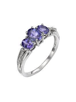 love-gem-9-carat-gold-tanzantine-trilogy-ring