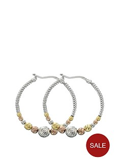 love-silver-sterling-silver-3-colour-beaded-30-mm-crecole-earrings