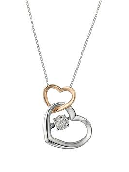 love-diamond-9-carat-white-and-rose-gold-shimmering-5-point-diamond-double-heart-pendant