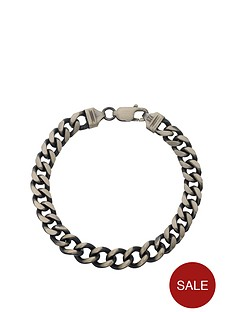 love-silver-sterling-silver-gunmetal-finish-solid-curb-mens-bracelet