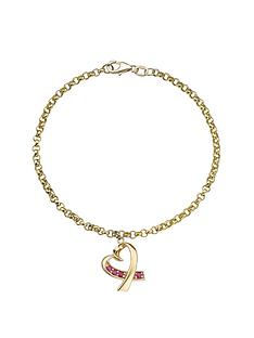 love-gem-9-carat-yellow-gold-ruby-heart-drop-belcher-bracelet