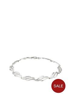 love-diamond-sterling-silver-5-point-diamond-bracelet