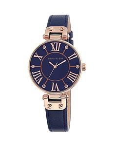 anne-klein-mother-of-pearl-dial-navy-leather-strap-ladies-watch