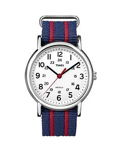 timex-weekender-indiglo-night-light-multi-coloured-slip-through-nylon-unisex-watch