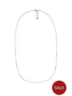 dkny-gold-tone-match-stick-16-inch-necklace