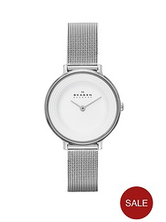 skagen-ditte-refined-stainless-steel-ladies-watch