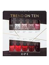 OPI Gwen Stefani Holiday Collection Trend on Ten 10 Piece Mini Kit Nail Polish