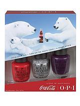 Coca Cola Nail Polish Trio Pack